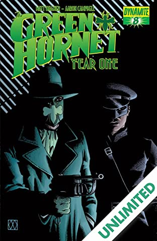 Green Hornet: Year One #8